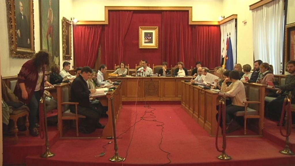 Pleno en el Ayuntamiento de Portugalete