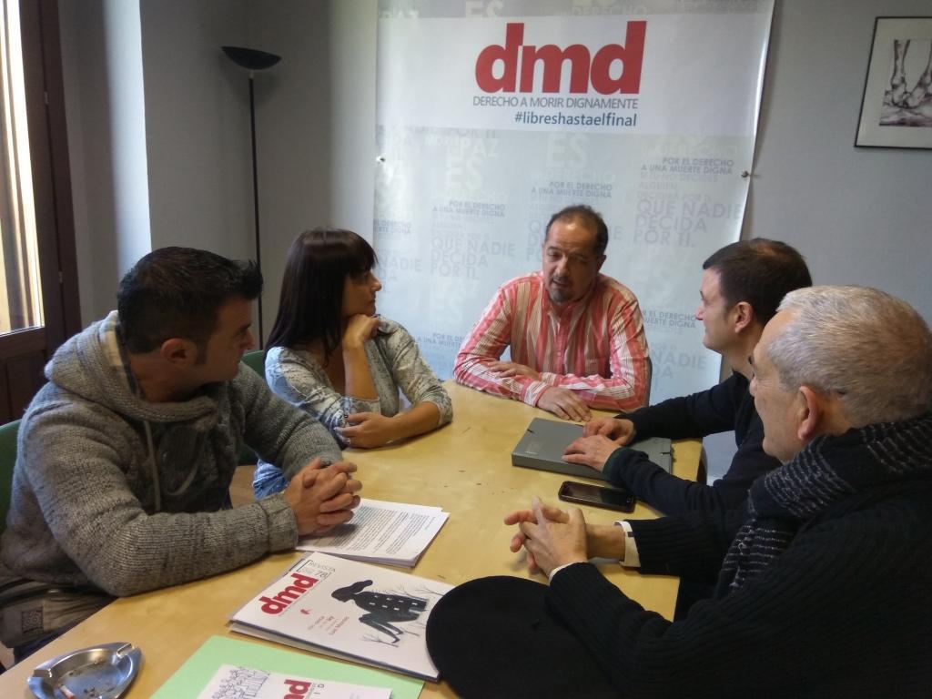 Con Fernando Marín (Dr. de DMD)